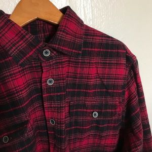 Jachs Men's Cotton Flannel Shirt Button Down